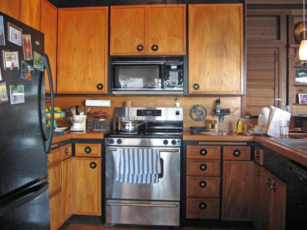 Custom Kitchen Before Remodel